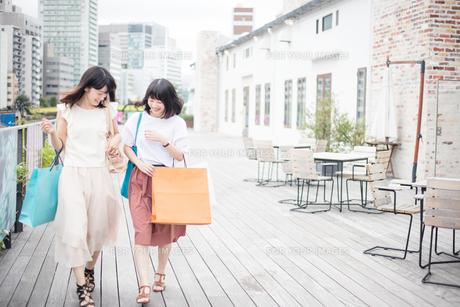 ショッピングをする女性2人 FYI00491651