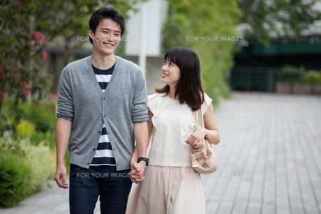 デートをするカップルの素材 [FYI00491661]
