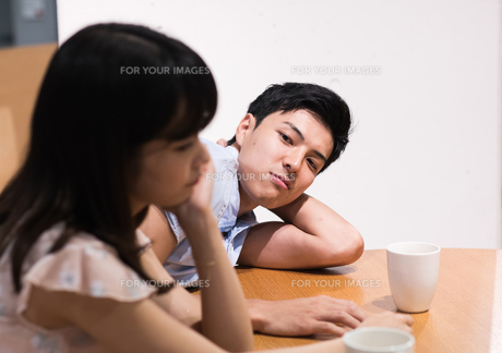 喧嘩をするカップルの素材 [FYI00491774]