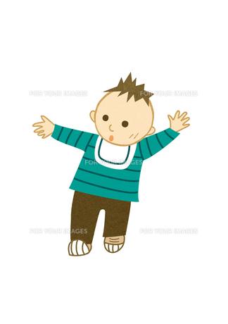 よちよち歩きの子ども FYI00495968