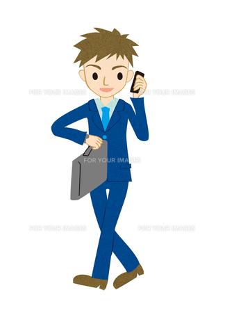 歩くビジネスマン FYI00497154