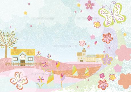 春の風景 FYI00497183