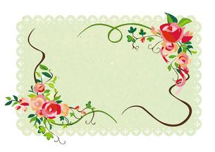 花のフレーム03 FYI00497189