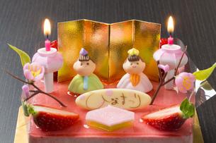 ひな祭りケーキ FYI00541122