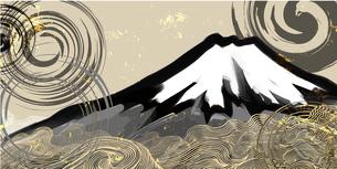 富士の墨絵 FYI00542452