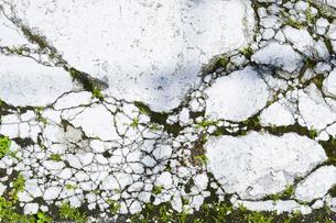 ひび割れた岩 FYI00543756