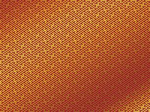 金の和柄 紗綾形(さやがた) FYI00544510