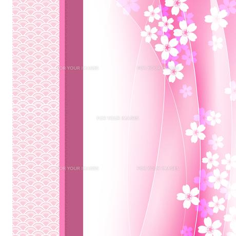 桜 和柄 和風 FYI00545058