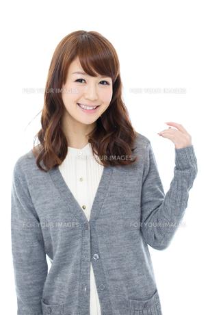 爽やかな若い女性 FYI00558511