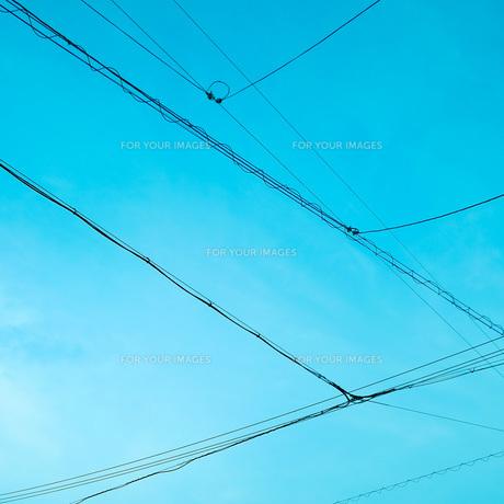 青空と電線 FYI00559968
