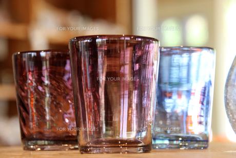 メタリックなガラス器 FYI00560215