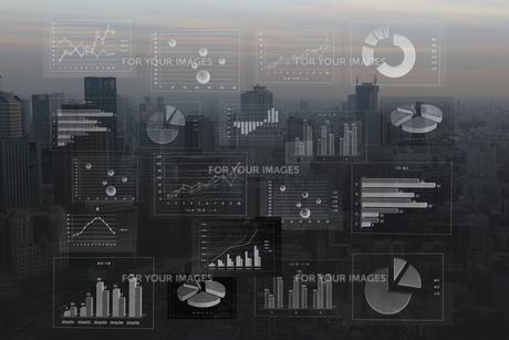 ビジネスイメージ ファイナンシャルグラフ FYI00560245