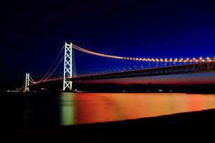 明石海峡大橋 ライトアップ FYI00576261