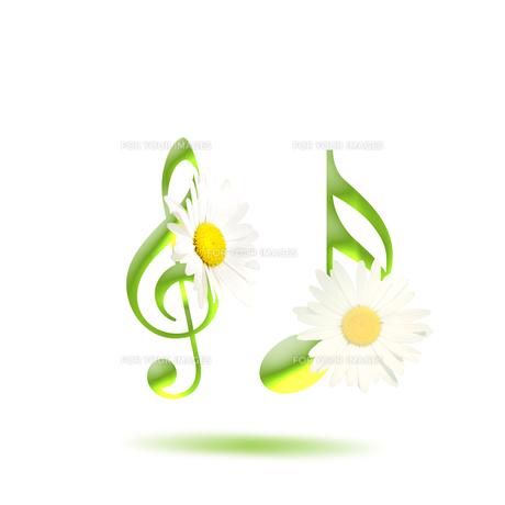 音楽 譜面 花 ミュージック FYI00598569