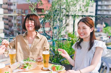 女子会の食事シーン FYI00603702