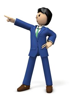 指をさすビジネスマン FYI00604762
