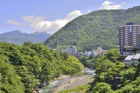 新緑の鬼怒川温泉 FYI00625758