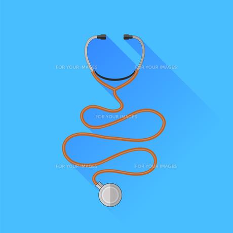 Medical Stethoscope Icon FYI00640463