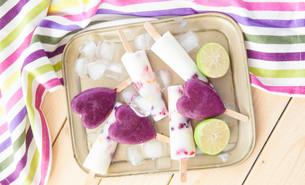 homemade popsicles FYI00646099