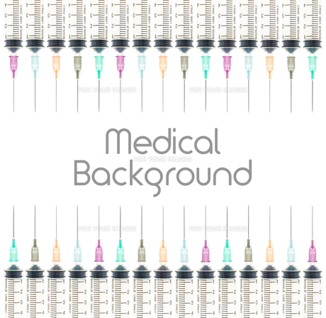 Five Color Medical Background on Top and Bottom View FYI00651614