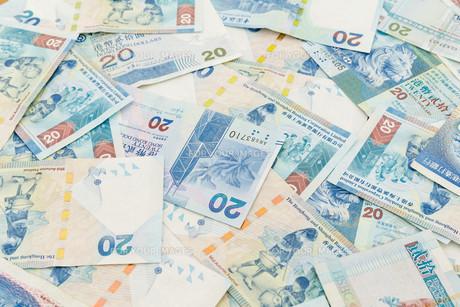 Background of Hong Kong twenty dollar bills FYI00660875