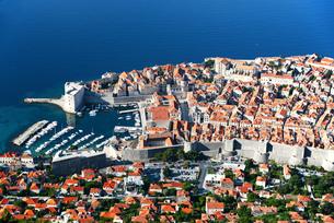 Aerial view of Dubrovnik, Croatia FYI00661435