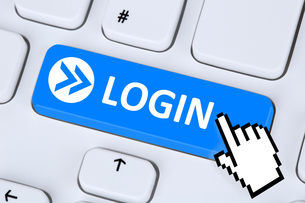 login button login with password online on the internet on computer FYI00662078