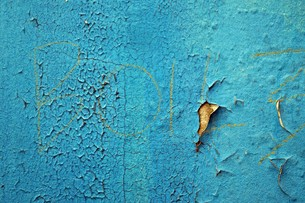 exfoliating blue paint 2 FYI00665364