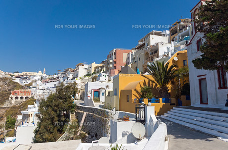 view of fira and imerovigli,santorini FYI00678741