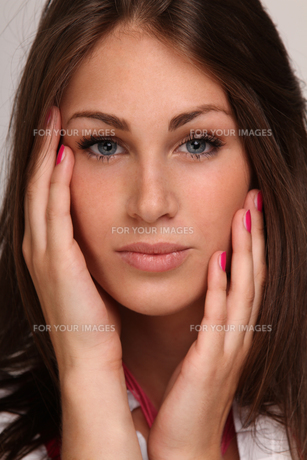young woman feels comfortable in her own skin FYI00717730