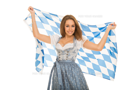 young woman in a dirndl FYI00728398
