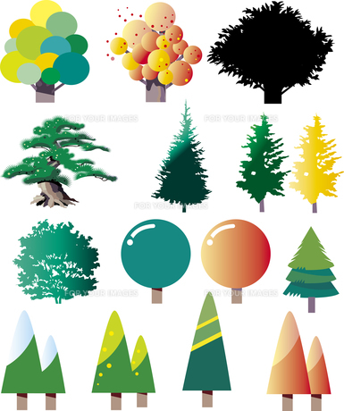 樹木のパーツ FYI00737853