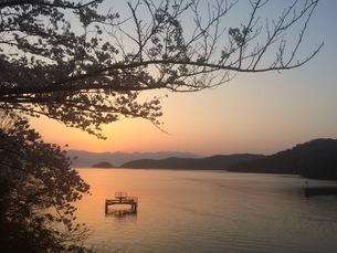 琵琶湖サンセット FYI00737995