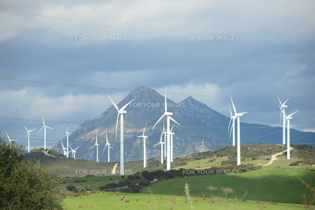wind turbines in spain,wind energy,wind turbine,wind generator,energy FYI00738574