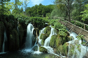 the national park plitvice in croatia FYI00742099