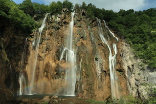 the national park plitvice in croatia FYI00742106