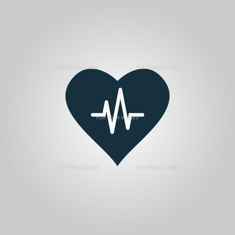 Heart with cardiogram FYI00753515