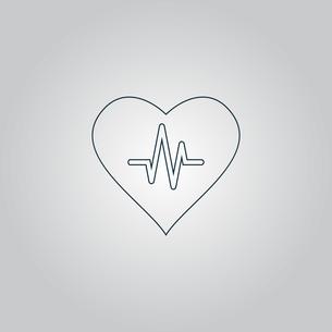 Heart with cardiogram FYI00761213
