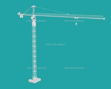 construction craneの素材 [FYI00763575]