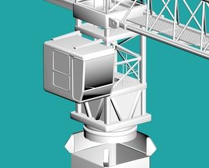 construction craneの素材 [FYI00763583]