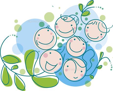 笑顔の家族 Fyi00766155 気軽に使える写真イラスト素材