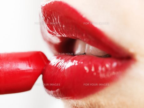 Red lips with lipstick,Red lips with lipstick,Red lips with lipstick,Red lips with lipstick FYI00768480