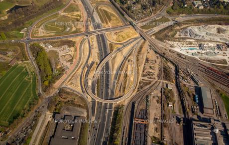 bochum west cross,a40,b1,highway,building site,br ckenbauwerk,country roads nrw,bochum stahlhausen FYI00778044