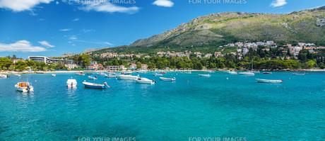 Coastal town Mliny located close to Dubrovnik, Croatia FYI00791453