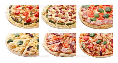 Pizza set isolated FYI00792721