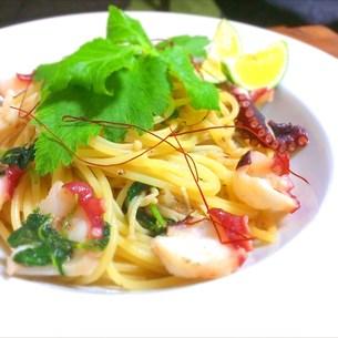 蛸と柚子胡椒の和風ペペロンチーノ FYI00795722