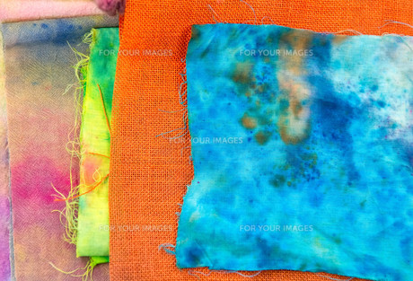 colorful fabric samples FYI00805528