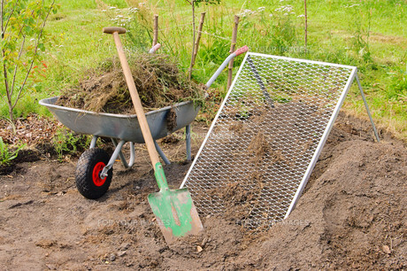 komposthaufen seven - compost pile sieve 01の素材 [FYI00812747]