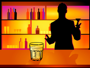 bar with bartender FYI00834968