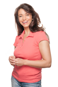 happy and smiling woman FYI00855280